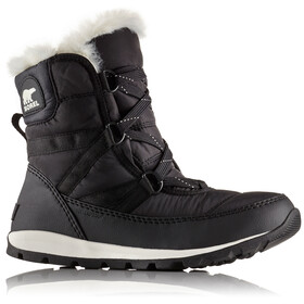 """Sorel W's Whitney Short Lace Boots Black"""